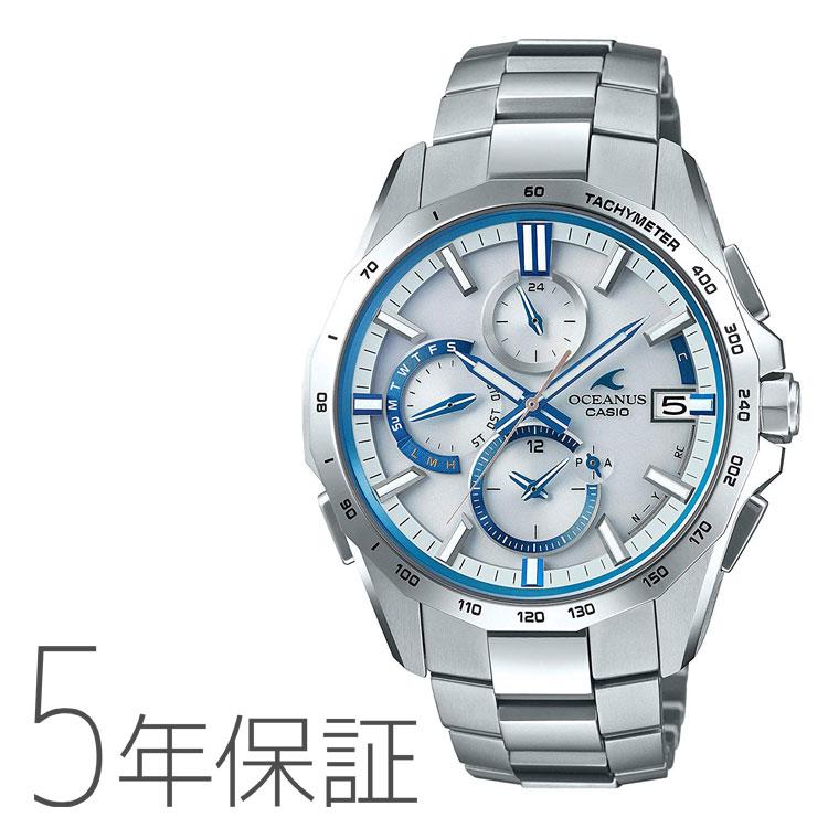 オシアナス マンタ カシオ CASIO OCEANUS Manta 電波 ソーラー タフソーラー 腕時計 メンズ OCW-S4000F-7AJF