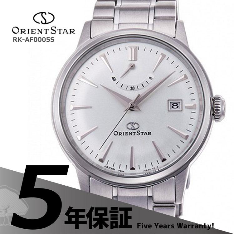 ORIENT STAR オリエントスター クラシック 機械式時計 自動巻き シースルーバック 白 ホワイト RK-AF0005S メンズ 腕時計 お取り寄せ