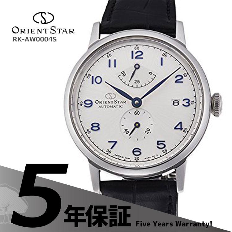 オリエントスター ORIENT STAR クラシック ヘリテージゴシック 小秒 革バンド 黒 ブラック RK-AW0004S メンズ 腕時計