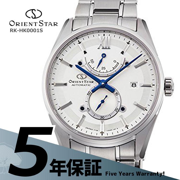 オリエントスター ORIENT STAR コンテンポラリー スリムデイト 機械式時計 小秒 白 ホワイト RK-HK0001S メンズ 腕時計 お取り寄せ
