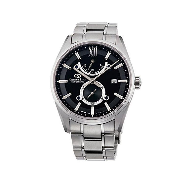 オリエントスター ORIENT STAR コンテンポラリー スリムデイト 機械式時計 小秒 黒 ブラック RK-HK0003B メンズ 腕時計 取り寄せ