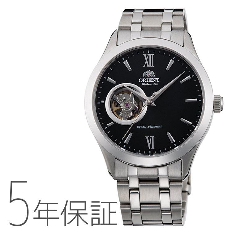 オリエント 機械式 ORIENT スタンダード セミスケルトン RN-AG0001B メンズ 腕時計 取り寄せ