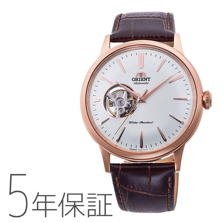 オリエント 腕時計 クラシック ORIENT セミスケルトン 機械式 RN-AG0004S メンズ | 防水 シースルーバック 国内正規品 お取り寄せ
