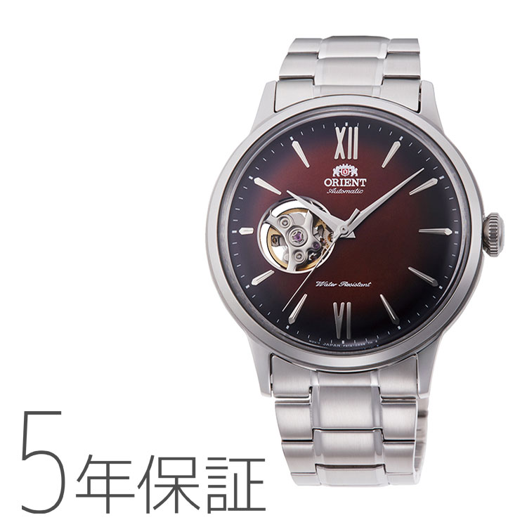 オリエント ORIENT クラシック セミスケルトン 腕時計 メンズ RN-AG0016Y