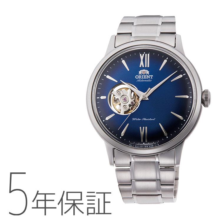 オリエント ORIENT クラシック セミスケルトン 腕時計 メンズ RN-AG0017L