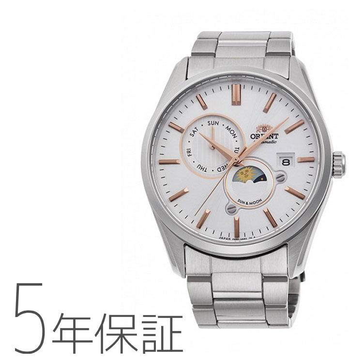 オリエント ORIENT コンテンポラリー SUN&MOON 機械式 日本製 腕時計 メンズ RN-AK0301S お取り寄せ