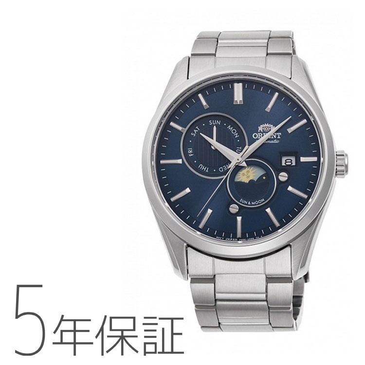 オリエント ORIENT コンテンポラリー SUN&MOON 機械式 日本製 腕時計 メンズ RN-AK0303L お取り寄せ
