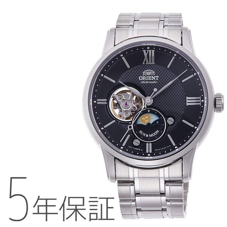 オリエント ORIENT クラシック SUN&MOON 機械式 日本製 腕時計 メンズ RN-AS0001B お取り寄せ