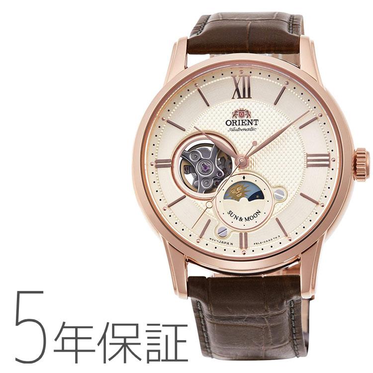 オリエント ORIENT クラシック SUN&MOON 機械式 日本製 腕時計 メンズ RN-AS0002S お取り寄せ