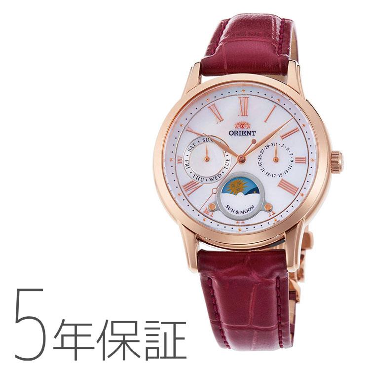 オリエント ORIENT クラシック SUN&MOON 日本製 腕時計 レディース RN-KA0001A
