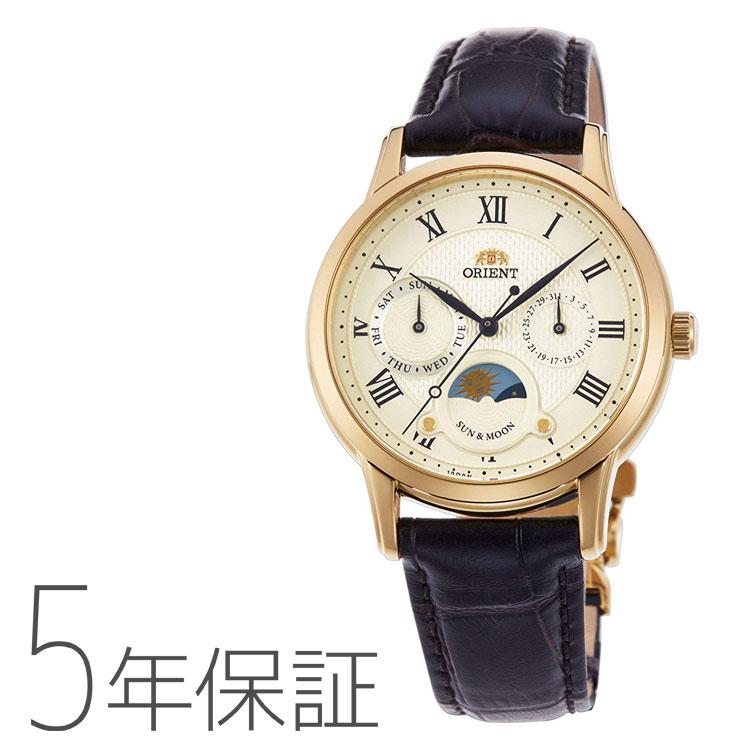 オリエント ORIENT クラシック SUN&MOON 日本製 腕時計 レディース RN-KA0002S
