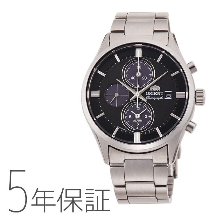 オリエント ORIENT コンテンポラリー クロノグラフ ライトチャージ 光充電 ブラック 黒 RN-TY0002B メンズ 腕時計 取り寄せ