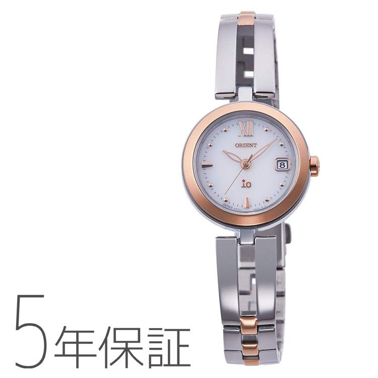 オリエント ORIENT イオ io 日本製 ソーラー 腕時計 レディース RN-WG0002S