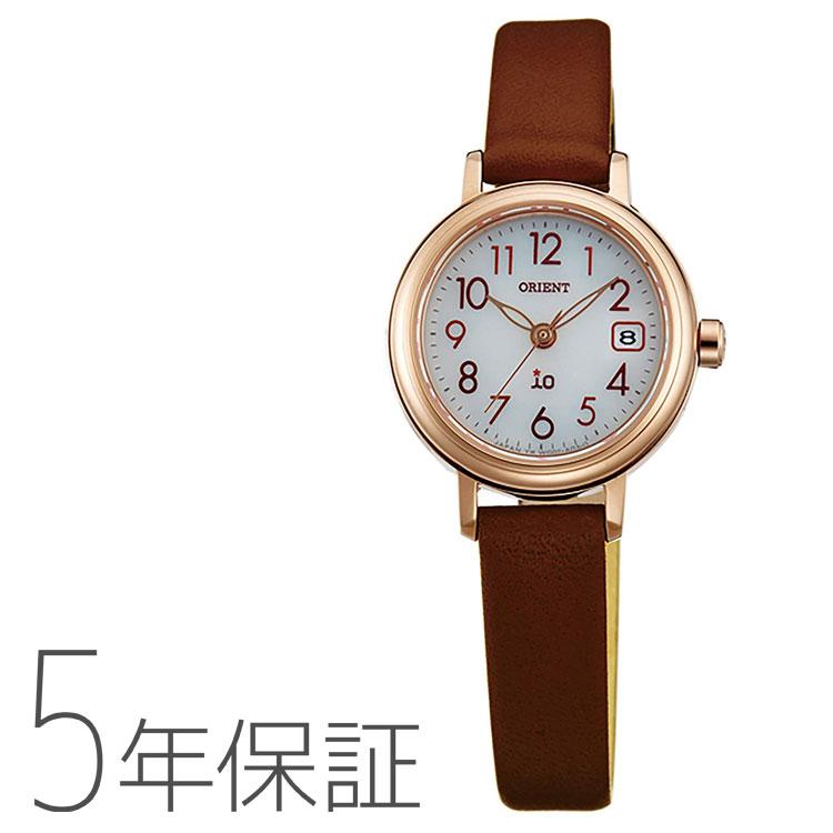 オリエント ORIENT イオ io ソーラー 日本製 腕時計 レディース WI0041WG