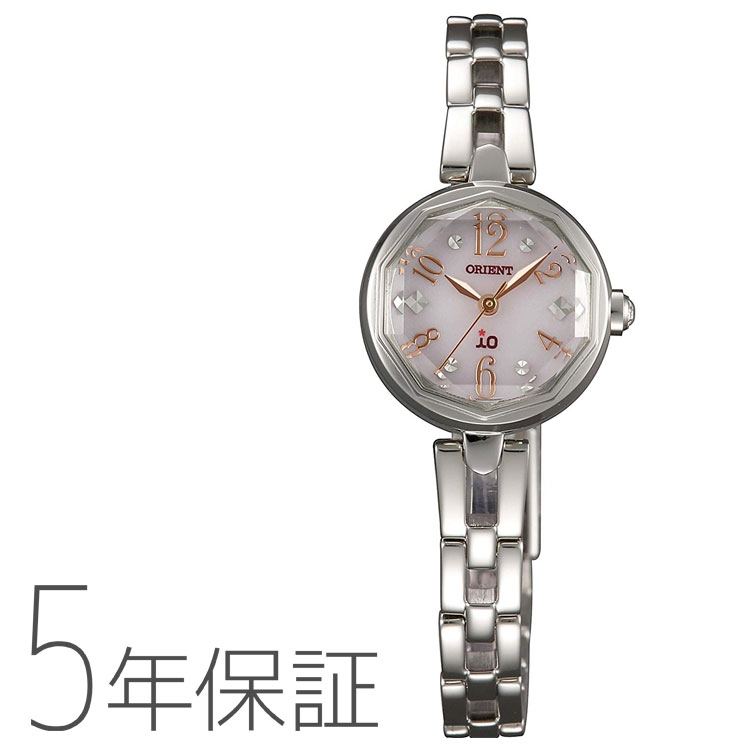オリエント ORIENT イオ io ソーラー 日本製 腕時計 レディース WI0171WD