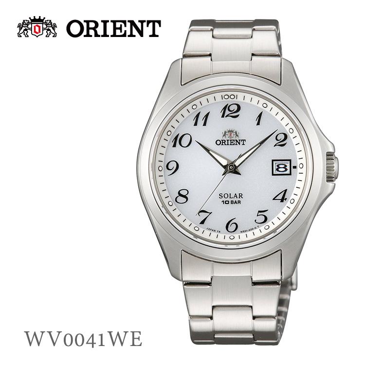 オリエント ORIENT ソーラー WV0041WE 腕時計 取り寄せ