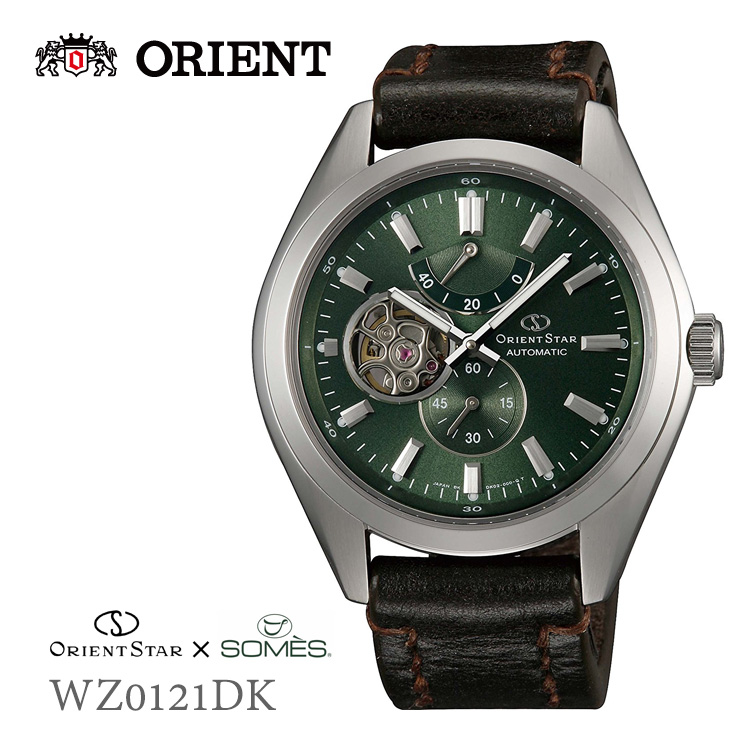 オリエントスター ORIENTSTAR ソメスサドル ブライドルレザーバンド WZ0121DK 腕時計 取り寄せ