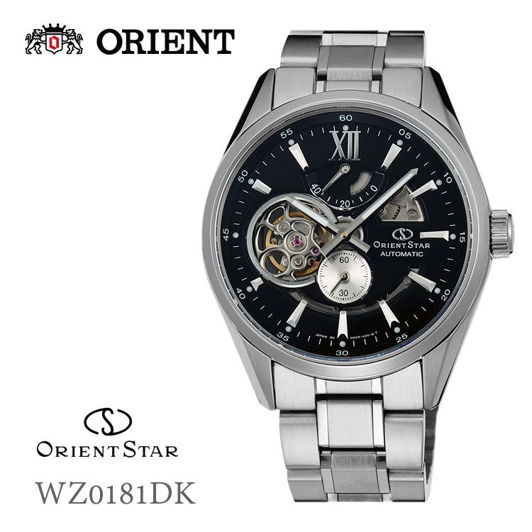 64dfc4b12a オリエントスター ORIENTSTAR モダンスケルトン ブラック 機械式 WZ0181DK 腕時計:e-Bloom 送料無料(北海道/沖縄除く)  コンビニ受取可
