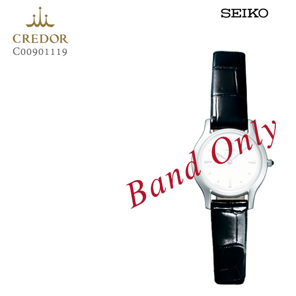 SEIKO セイコー CREDOR クレドール 婦人用 レディース クロコダイル 純正レザーバンド 替えバンド C00901119 お取り寄せ