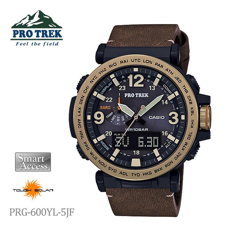 カシオ CASIO PROTREK プロトレック ソーラー電源 PRG-600YL-5JF 腕時計 メンズ PRO TREK