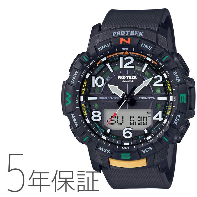 PROTREK プロトレック カシオ CASIO メンズ スマートフォンリンク 腕時計 PRT-B50-1JF