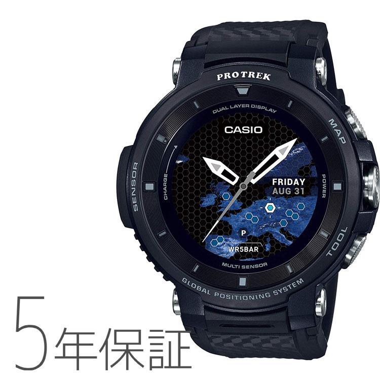 PROTREK プロトレック スマート アウトドア ウォッチ Smart Outdoor Watch カシオ CASIO 黒 腕時計 メンズ WSD-F30-BK