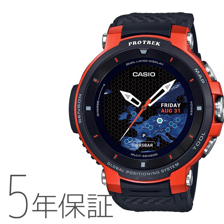PROTREK プロトレック スマート アウトドア ウォッチ Smart Outdoor Watch カシオ CASIO オレンジ 腕時計 メンズ WSD-F30-RG