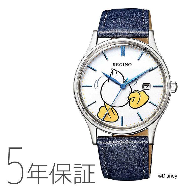 シチズン Disneyコレクション 「ドナルドダック」モデル 限定 レグノ 腕時計 CITIZEN REGUNO KH2-910-10