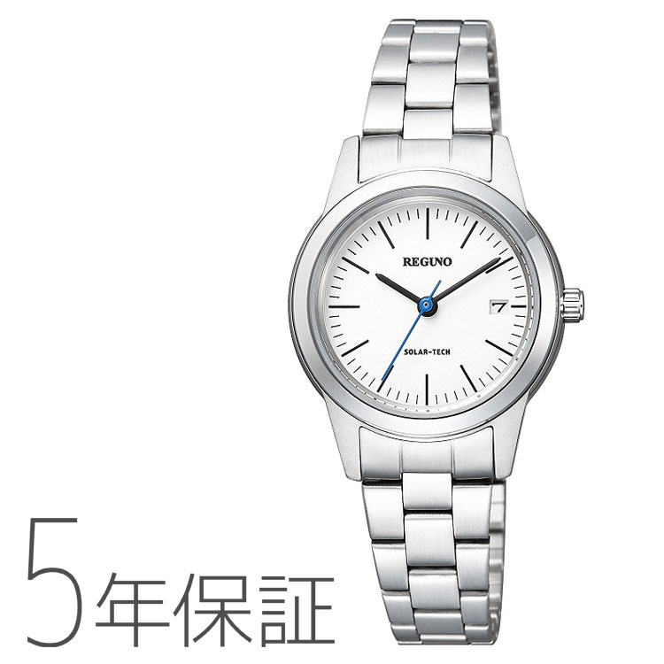 シチズン CITIZEN レグノ REGUNO ソーラーテック ペア 女性用 レディース 腕時計 KM4-015-11
