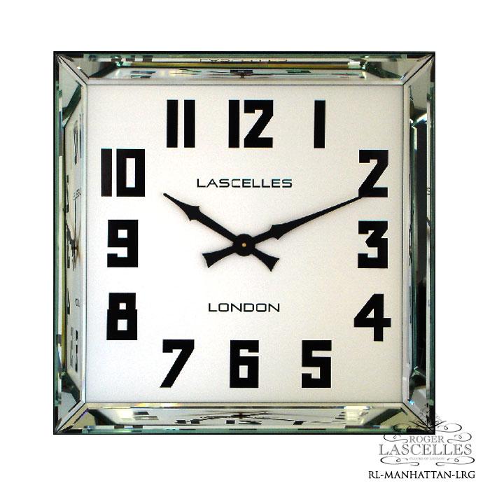 Roger Lascelles ロジャー・ラッセル イギリス発 掛け時計 掛時計 クラシックテイストなクロック RL-MANHATTAN-LRG