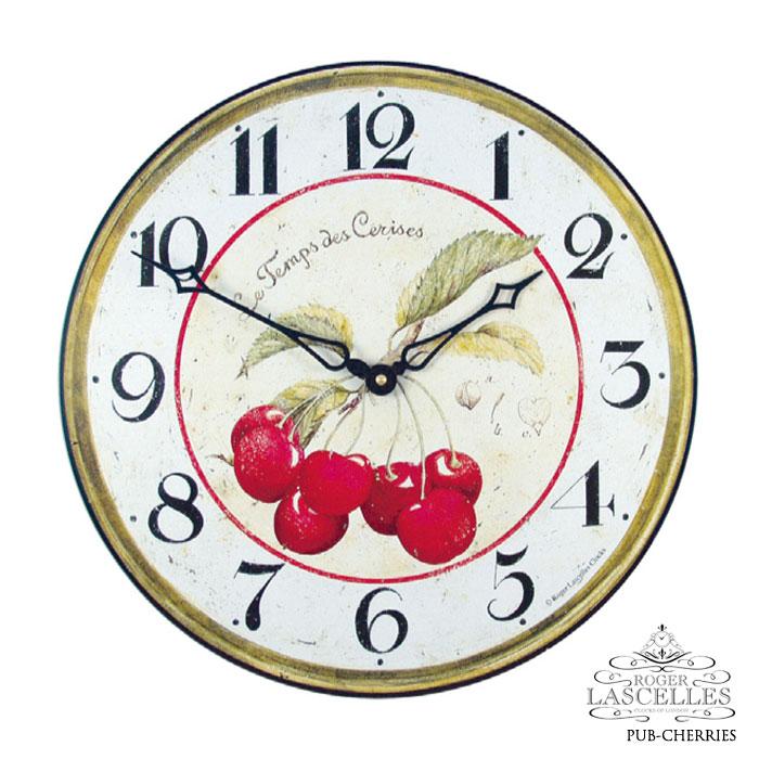 Roger Lascelles ロジャー・ラッセル イギリス発 掛け時計 掛時計 チェリー クラシックテイスト PUB-CHERRIES