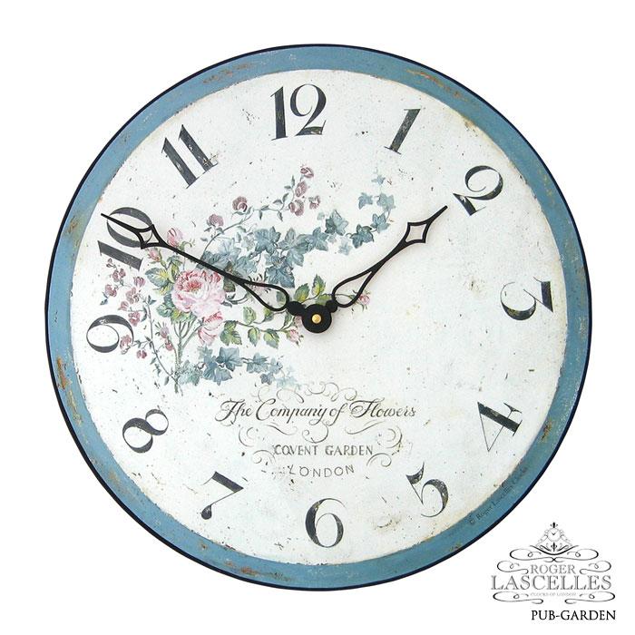 Roger Lascelles ロジャー・ラッセル イギリス発 掛け時計 掛時計 ガーデン クラシックテイスト PUB-GARDEN