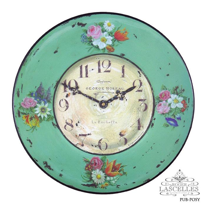 Roger Lascelles ロジャー・ラッセル イギリス発 掛け時計 掛時計 クラシックテイスト 樹脂 RL-PUB-POSY