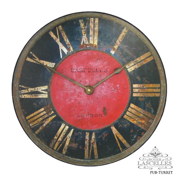 Roger Lascelles ロジャー・ラッセル イギリス発 掛け時計 掛時計 クラシックテイスト PUB-TURRET