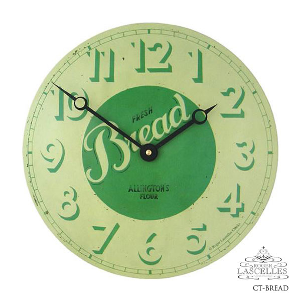 Roger Lascelles ロジャー・ラッセル イギリス発 掛け時計 掛時計 キッチンクロック クラシックテイスト RL-CT-BREAD