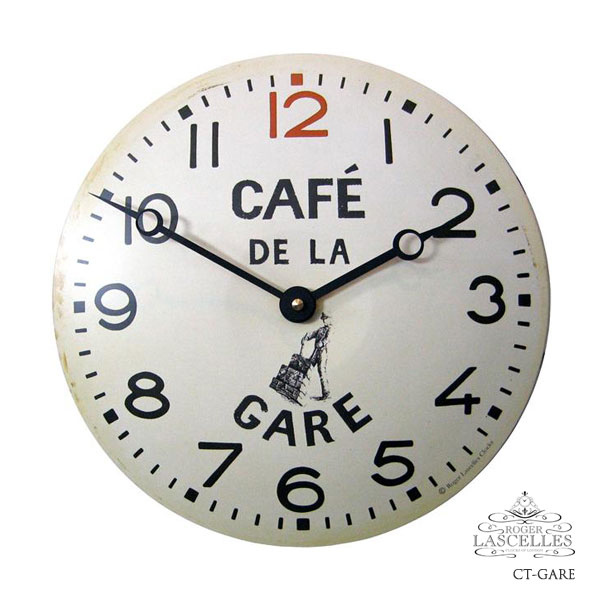 Roger Lascelles ロジャー・ラッセル イギリス発 掛け時計 掛時計 ステーションクロック RL-CT-GARE