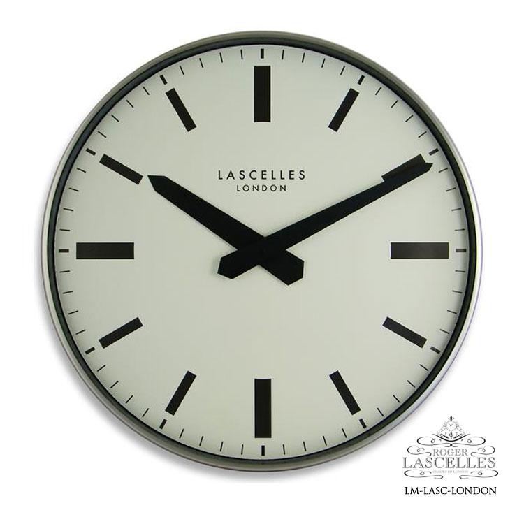 Roger Lascelles ロジャー・ラッセル イギリス製 デザイナーズ 掛け時計 ロンドン バーインデックス モダン 海外製 インポート ロジャーラッセル LM-LASC-LONDON