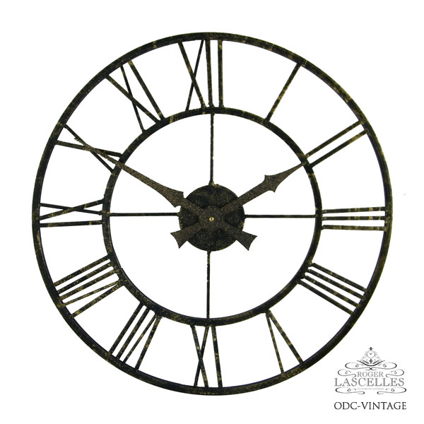 Roger Lascelles ロジャー・ラッセル イギリス製 掛け時計 アウトドア メタル 防水 屋外使用可能 庭 海外製 インポート ロジャーラッセル RL-ODC-VINTAGE