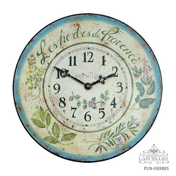 Roger Lascelles ロジャー・ラッセル イギリス発 掛け時計 掛時計 キッチンクロック クラシックテイスト RL-PUB-HERBES
