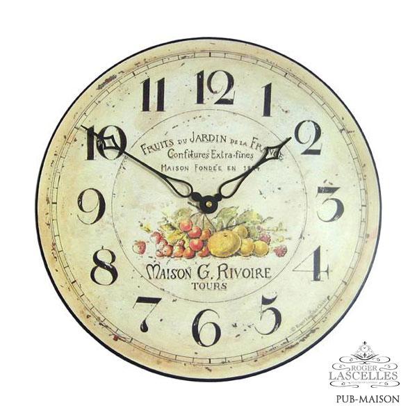 Roger Lascelles ロジャー・ラッセル イギリス発 掛け時計 掛時計 キッチンクロック クラシックテイスト RL-PUB-MAISON