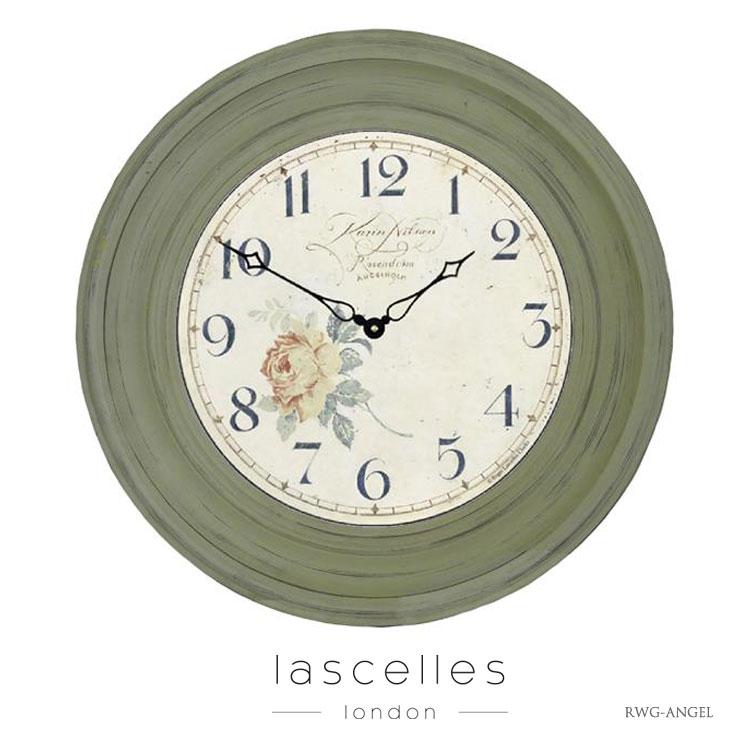 Roger Lascelles ロジャー・ラッセル イギリス製 スミスクロック デザイナーズ 掛け時計 レトロ 海外製 インポート ロジャーラッセル SM-DRAKE-CHROME
