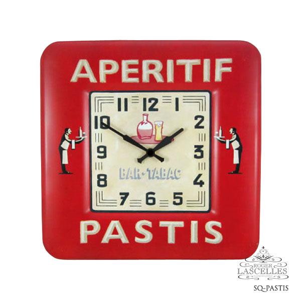 Roger Lascelles ロジャー・ラッセル イギリス発 掛け時計 掛時計 レトロクロック RL-SQ-PASTIS