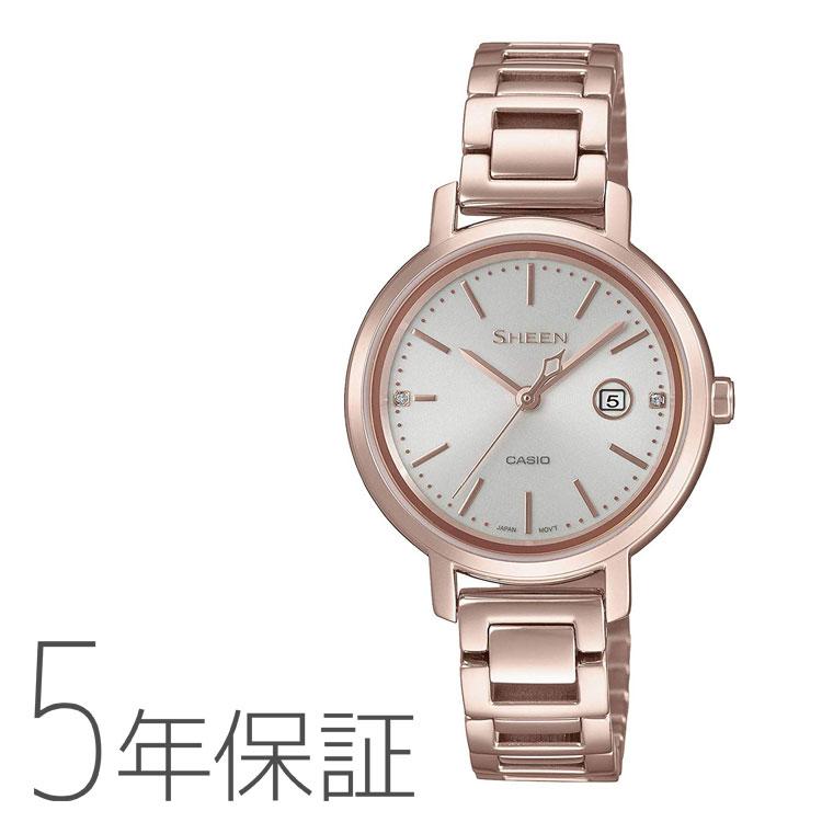 CASIO カシオ SHEEN シーン ソーラー 腕時計 レディース SHS-4525CG-4AJF