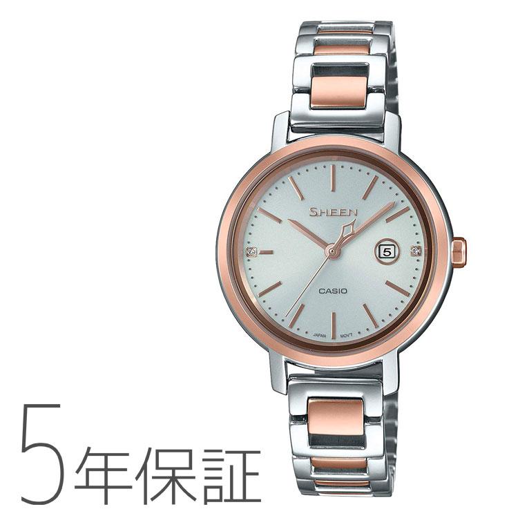 CASIO カシオ SHEEN シーン ソーラー 腕時計 レディース SHS-4525SPG-7AJF