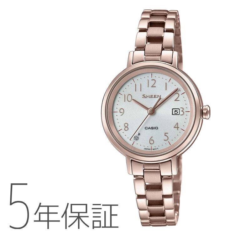 SHEEN シーン カシオ CASIO ソーラー 腕時計 レディース SHS-D100CG-7AJF