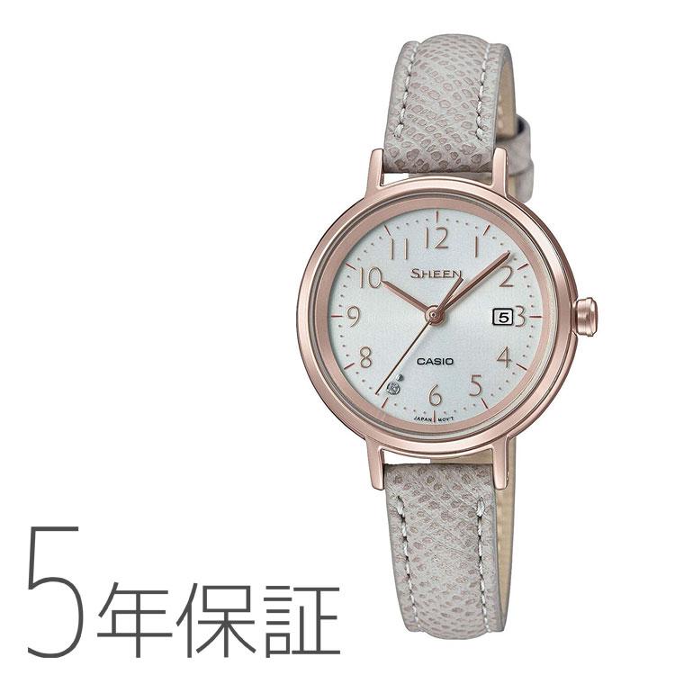 SHEEN シーン カシオ CASIO ソーラー 腕時計 レディース SHS-D100CGL-7AJF