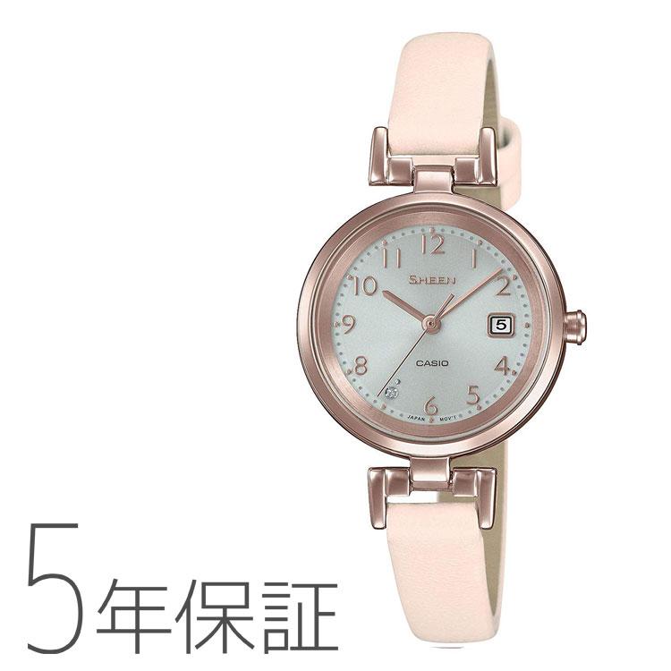 SHEEN シーン カシオ CASIO ソーラー 腕時計 レディース SHS-D200CGL-4AJF