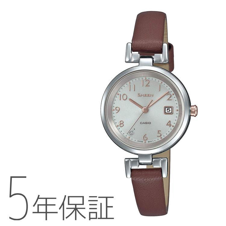 SHEEN シーン カシオ CASIO ソーラー 腕時計 レディース SHS-D200L-4AJF