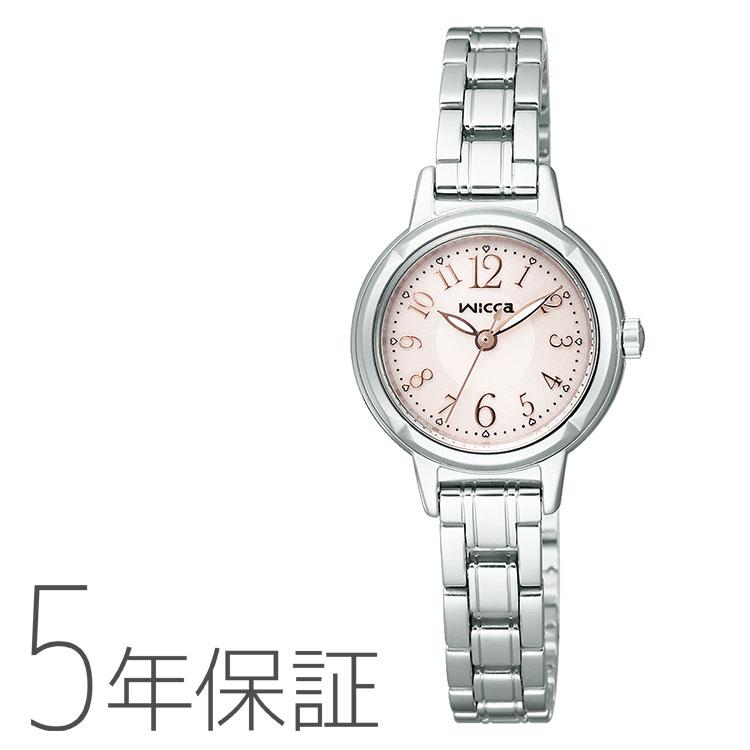 シチズン CITIZEN wicca ウィッカ ソーラー電源 KH9-914-91 レディース 腕時計
