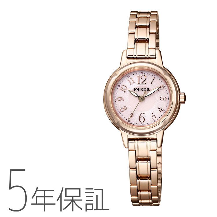 送料無料 国内即発送 シチズン CITIZEN wicca ソーラー電源 ウィッカ 驚きの値段 レディース kh9-965-91腕時計